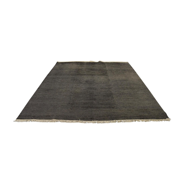 Room & Board Room & Board Talia Charcoal Grey Rug price