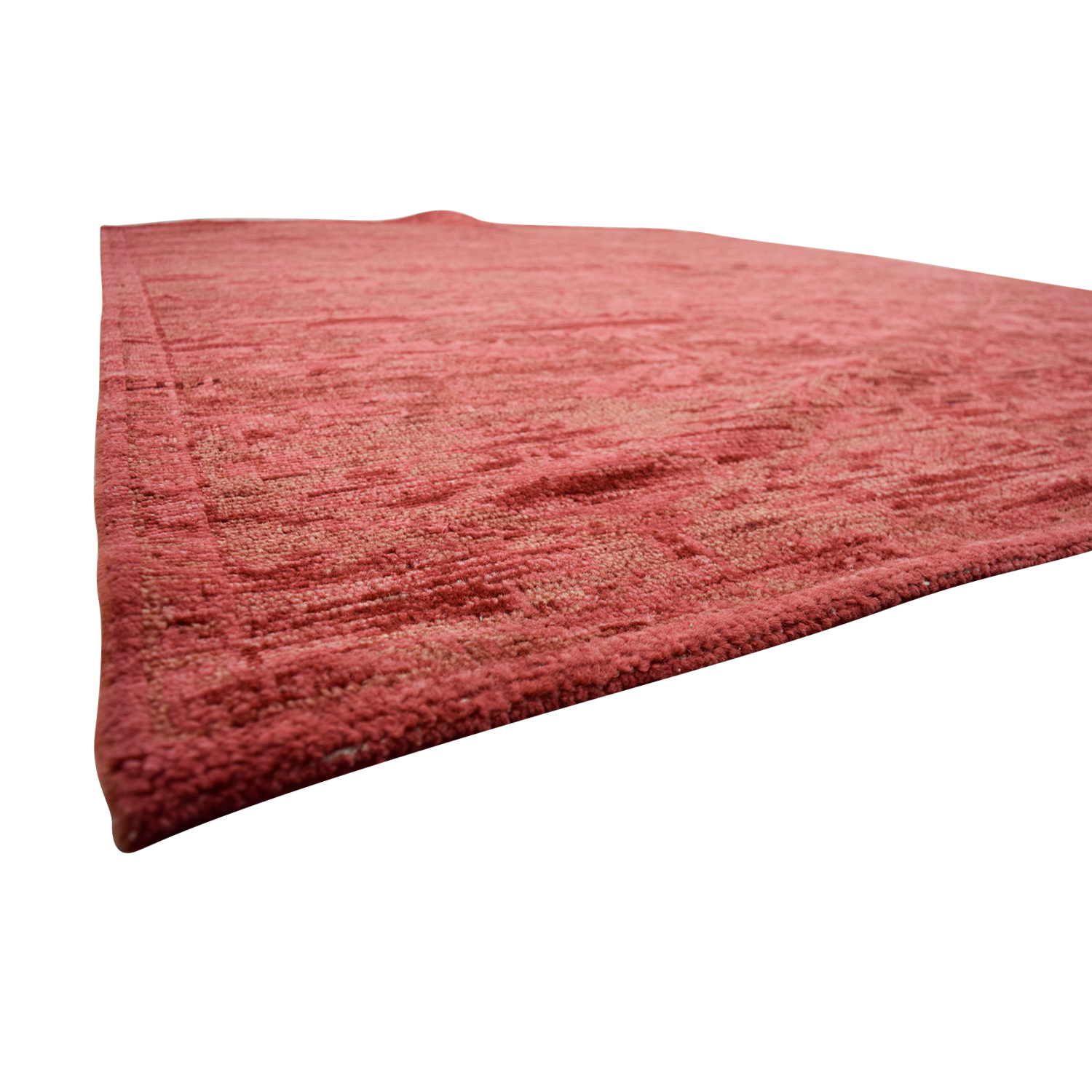 shop Obeetee Obeetee Hand Knotted Amira Paprika Wool Rug online