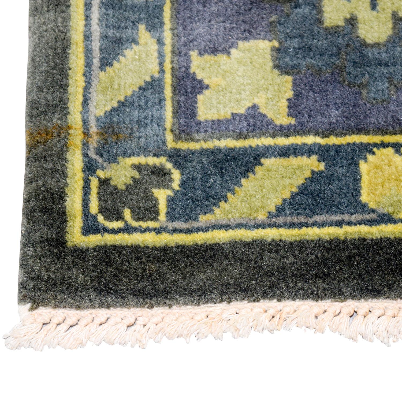 Obeetee Obeetee Heriz Grey Yellow and Brown Wool Rug for sale