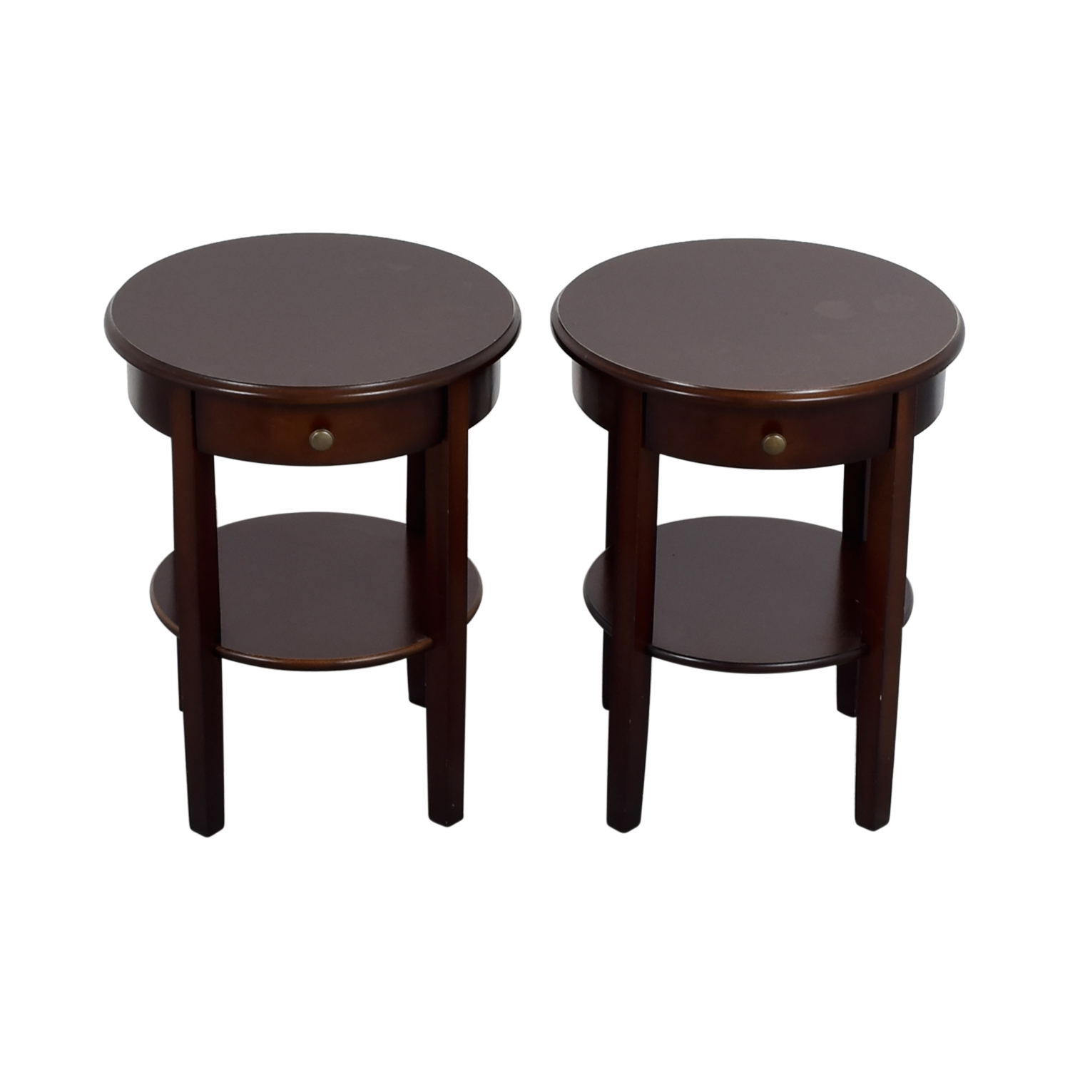 IKEA Circle Nightstands / End Tables