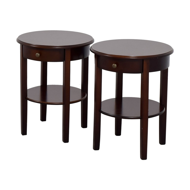 buy IKEA Circle Nightstands IKEA Tables