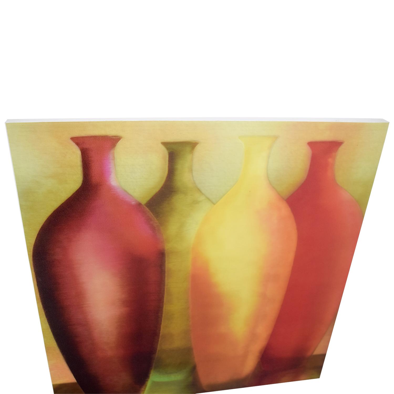 90% OFF - Vase Wall Art on Canvas / Decor