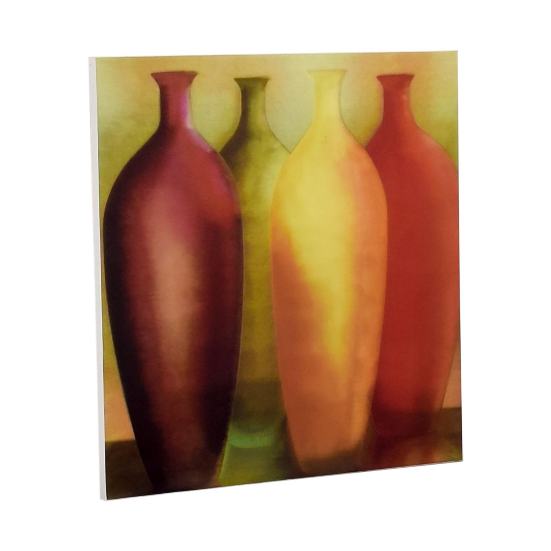 buy Vase Wall Art on Canvas