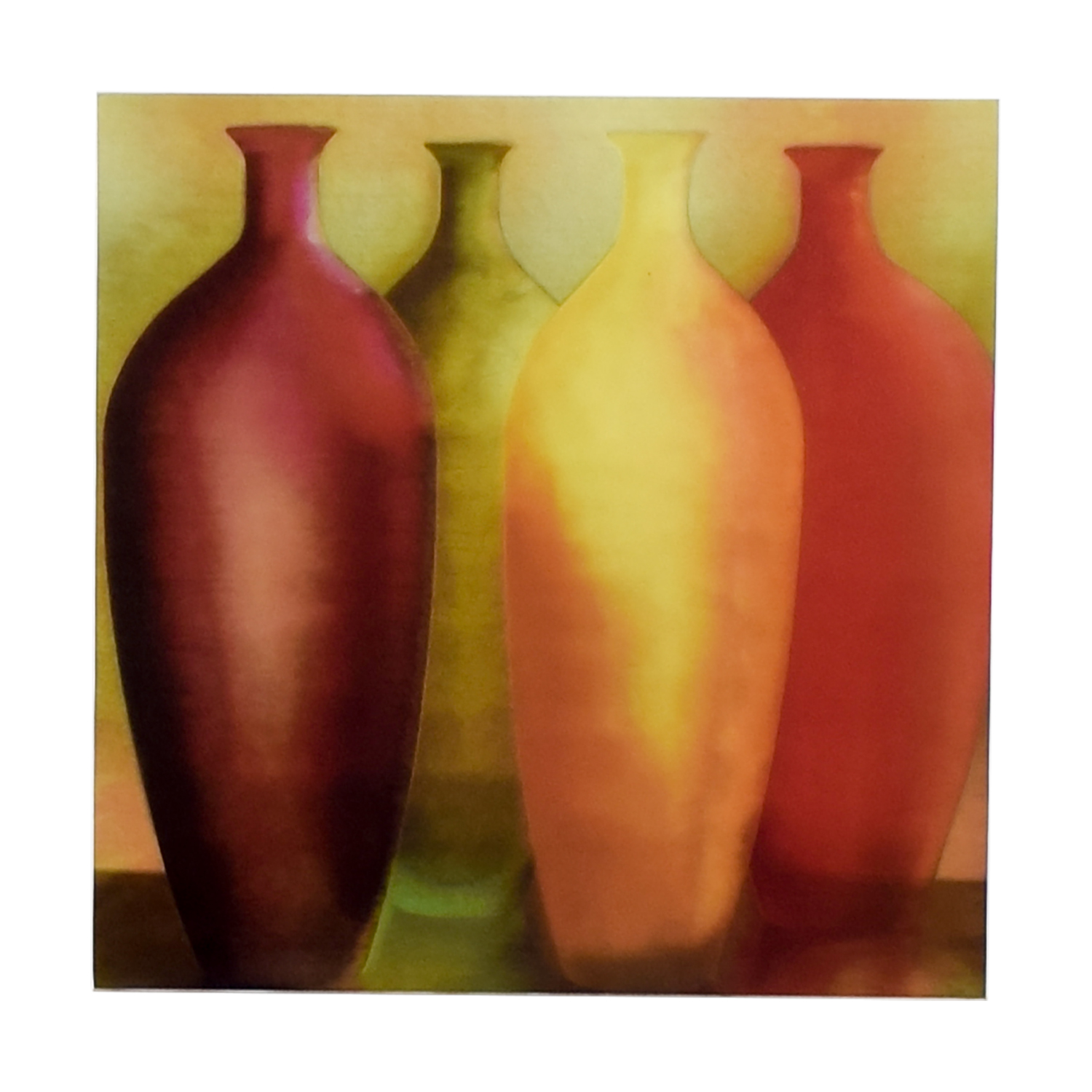 Vase Wall Art on Canvas nj