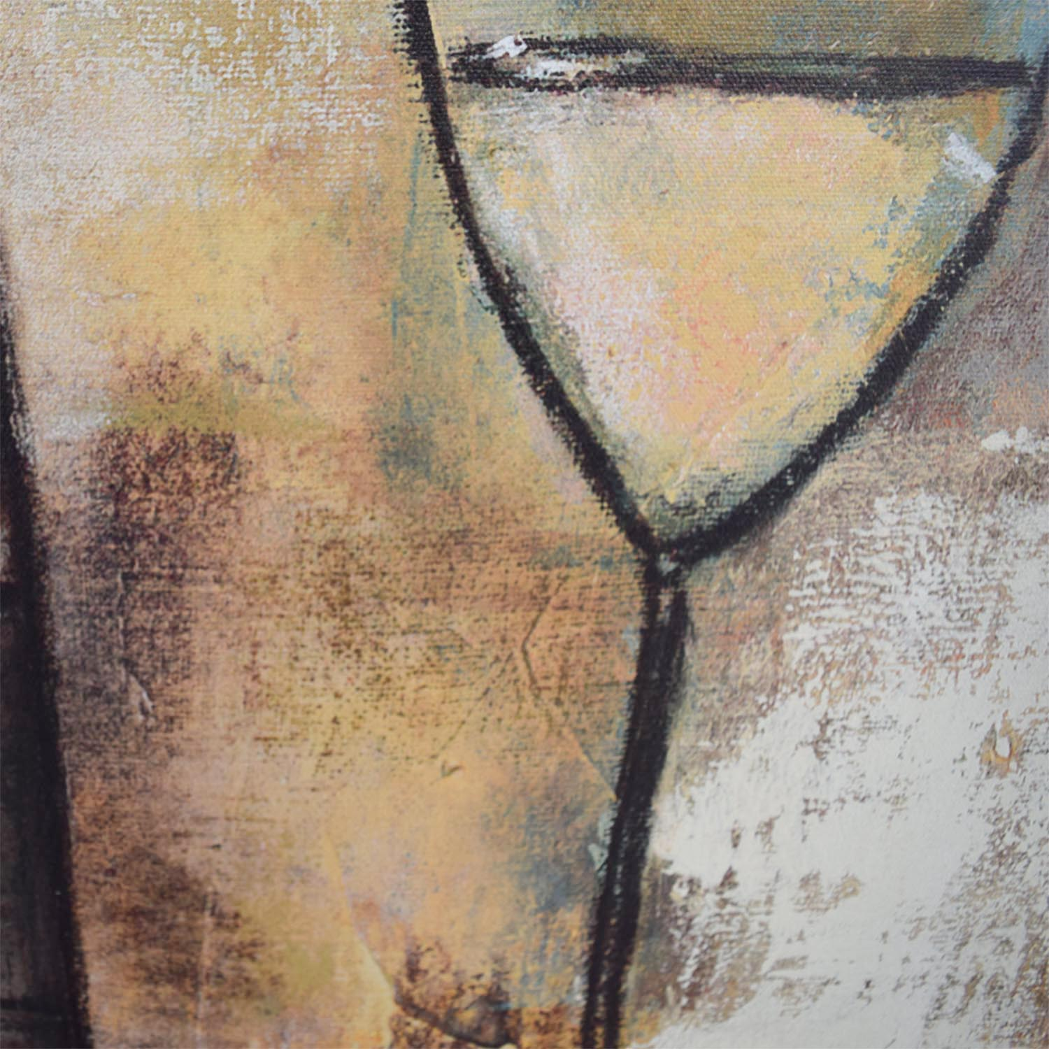 Wine Abstract Wall Art used
