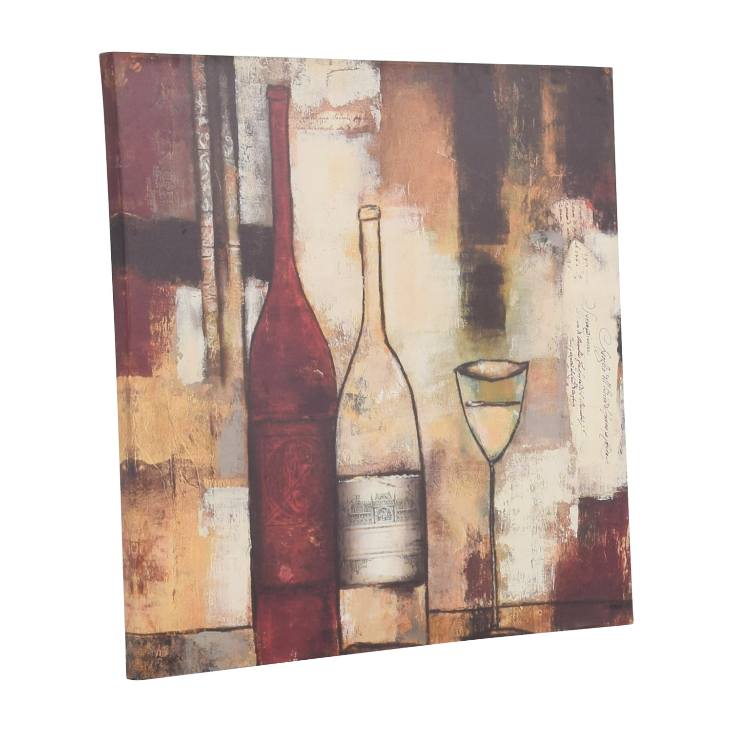 Wine Abstract Wall Art price