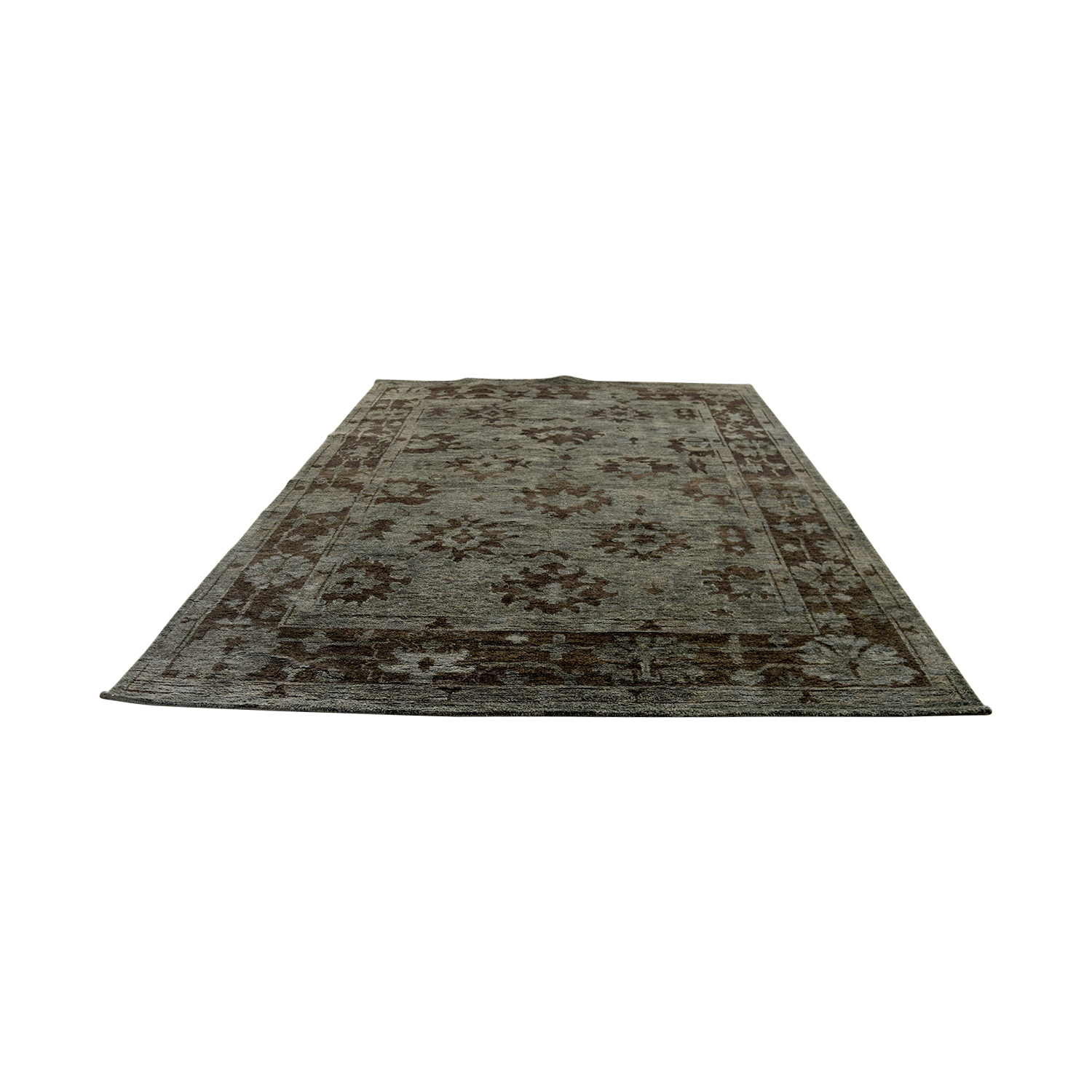 buy Obetee Storm Tobacco Green Rug Obetee Decor