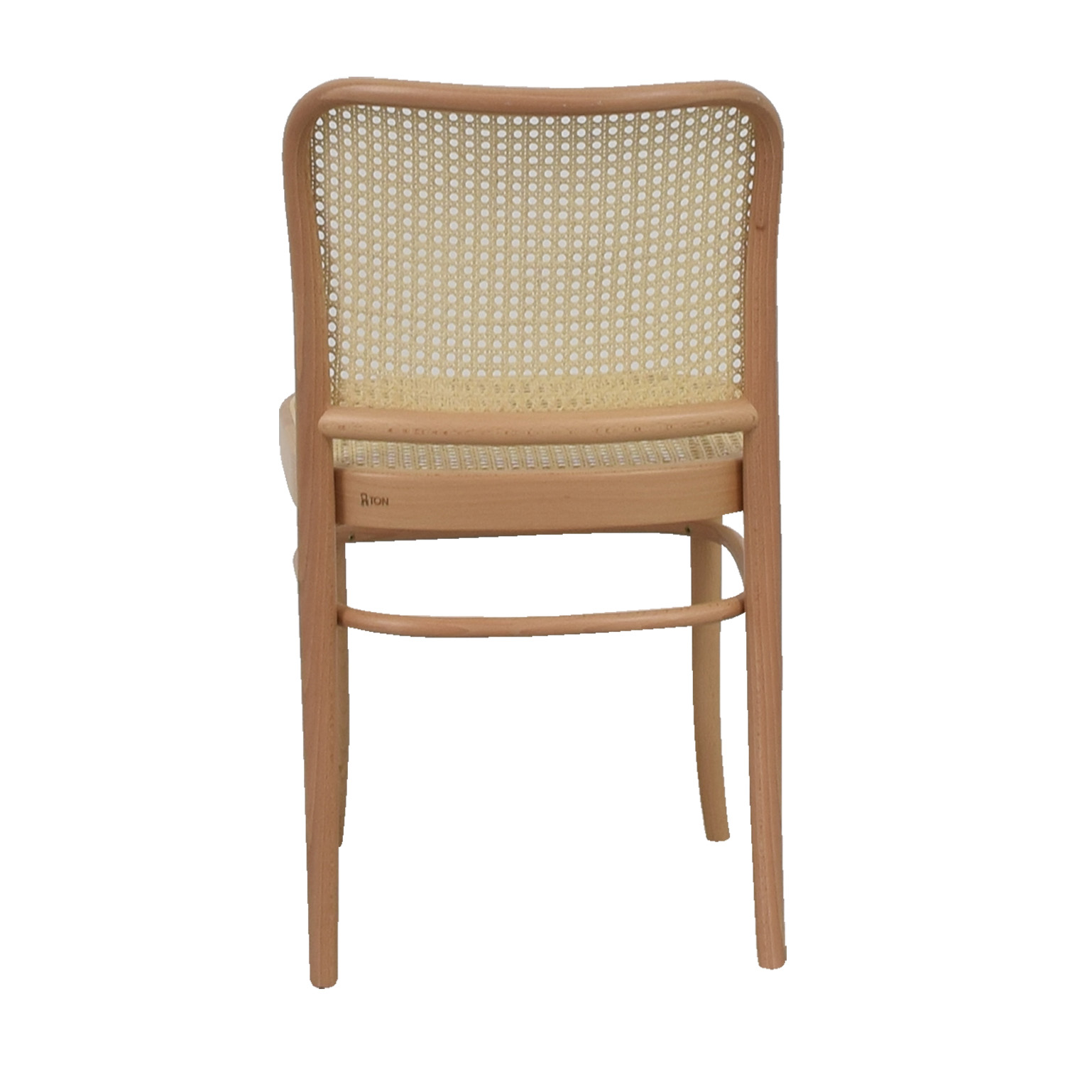 Stupendous 79 Off Design Within Reach Design Within Reach Hoffman Natural Side Chair Chairs Machost Co Dining Chair Design Ideas Machostcouk