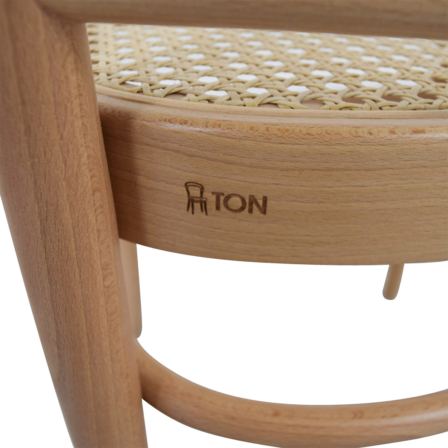 Design Within Reach Design Within Reach Hoffman Natural Side Chair dimensions