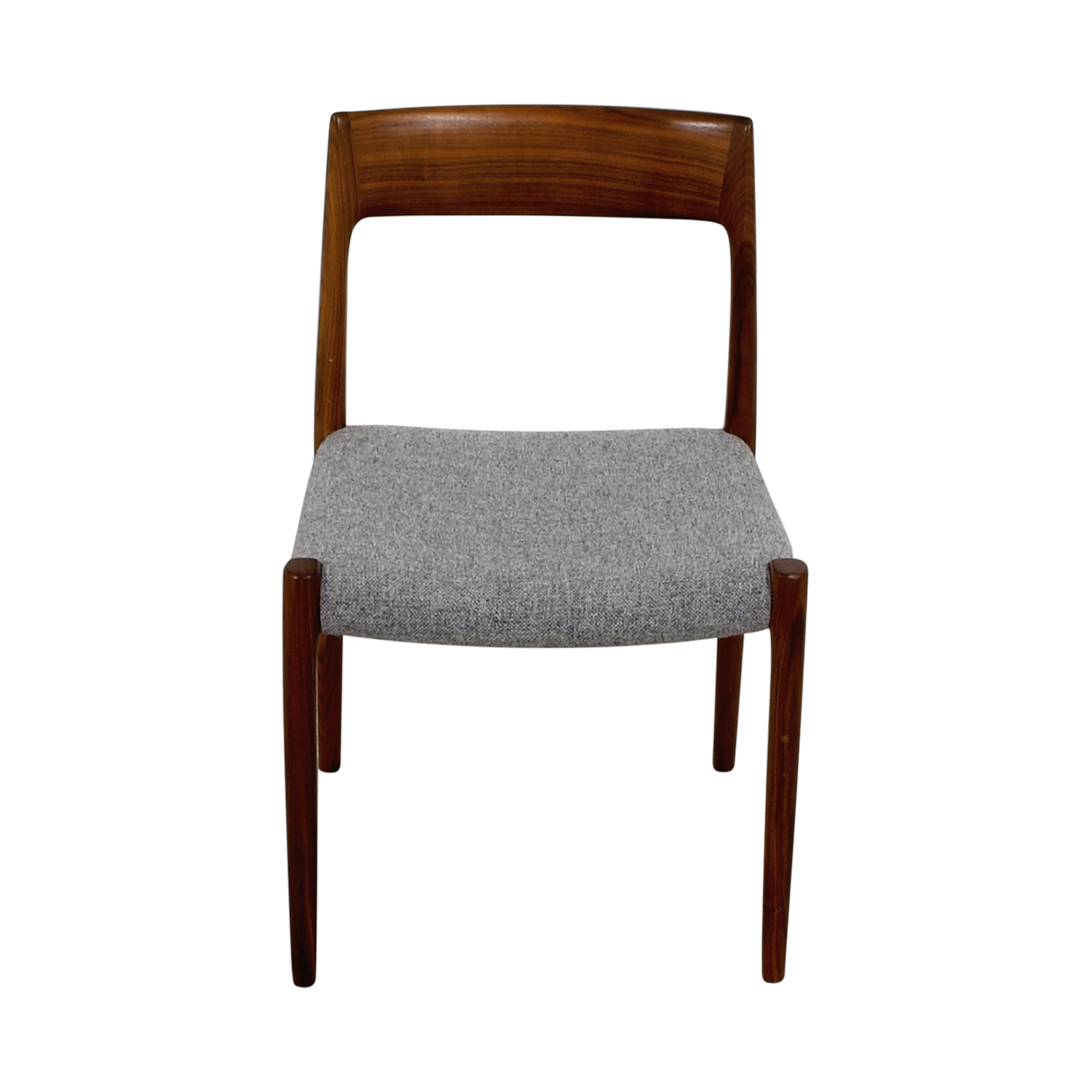 Design Within Reach Design Within Reach Møller Hallingdal Grey Side Chair dimensions