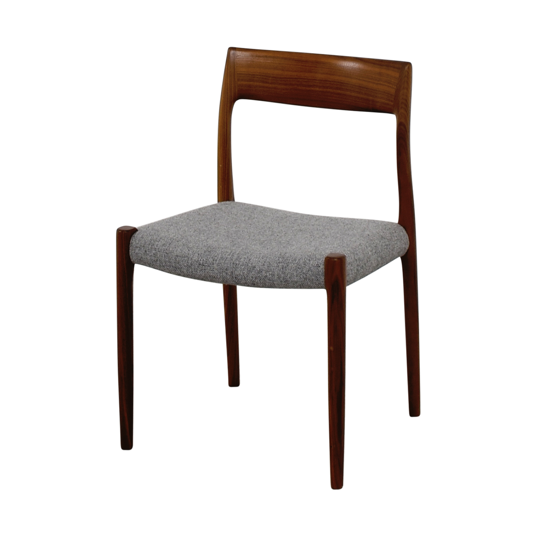 Design Within Reach Design Within Reach Møller Hallingdal Grey Side Chair