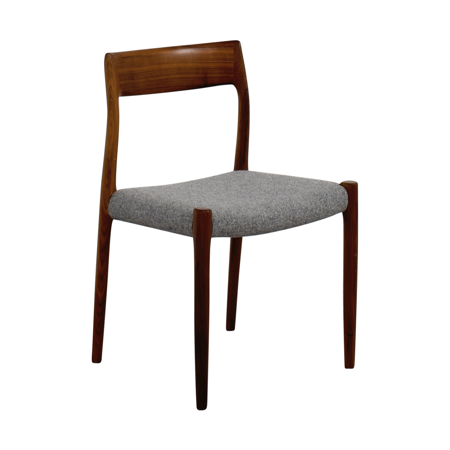 Design Within Reach Design Within Reach Møller Hallingdal Grey Side Chair Chairs