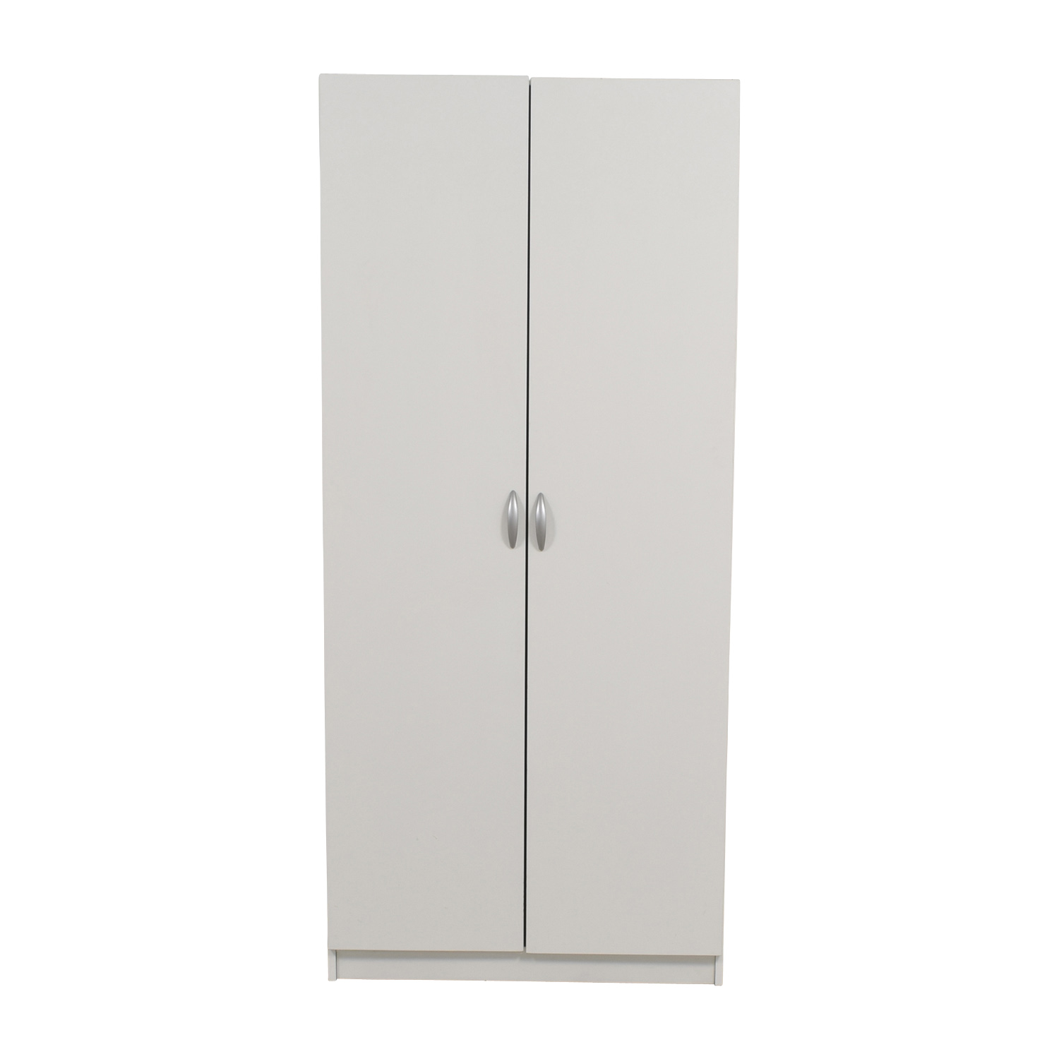 Contempo Spaces White Wardrobe / Wardrobes & Armoires