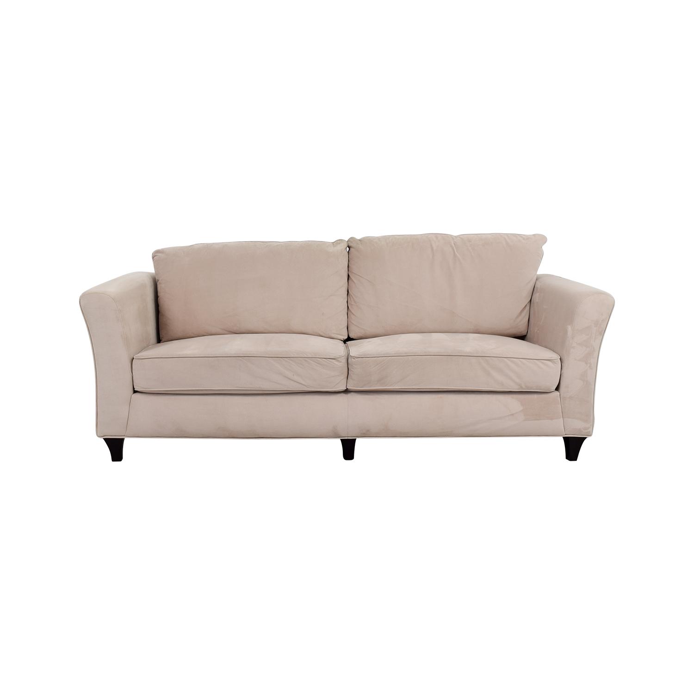 Coaster Contemporary Beige Sofa Clic Sofas