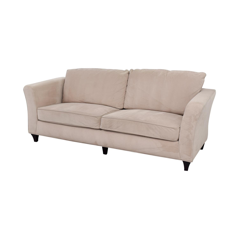 Coaster Contemporary Beige Sofa sale