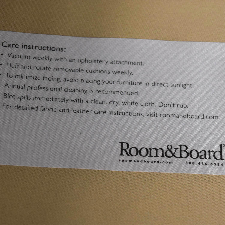 Room & Board Jasper Sofa in Slate / Classic Sofas