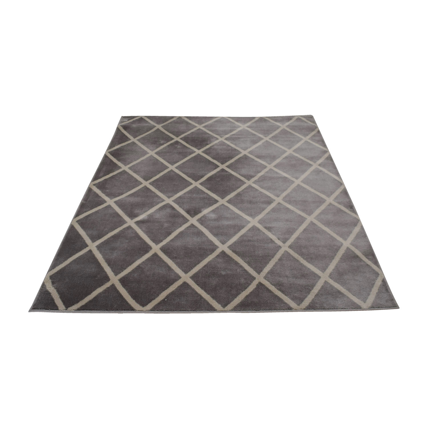 Wayfair Gray And White Rug Decor