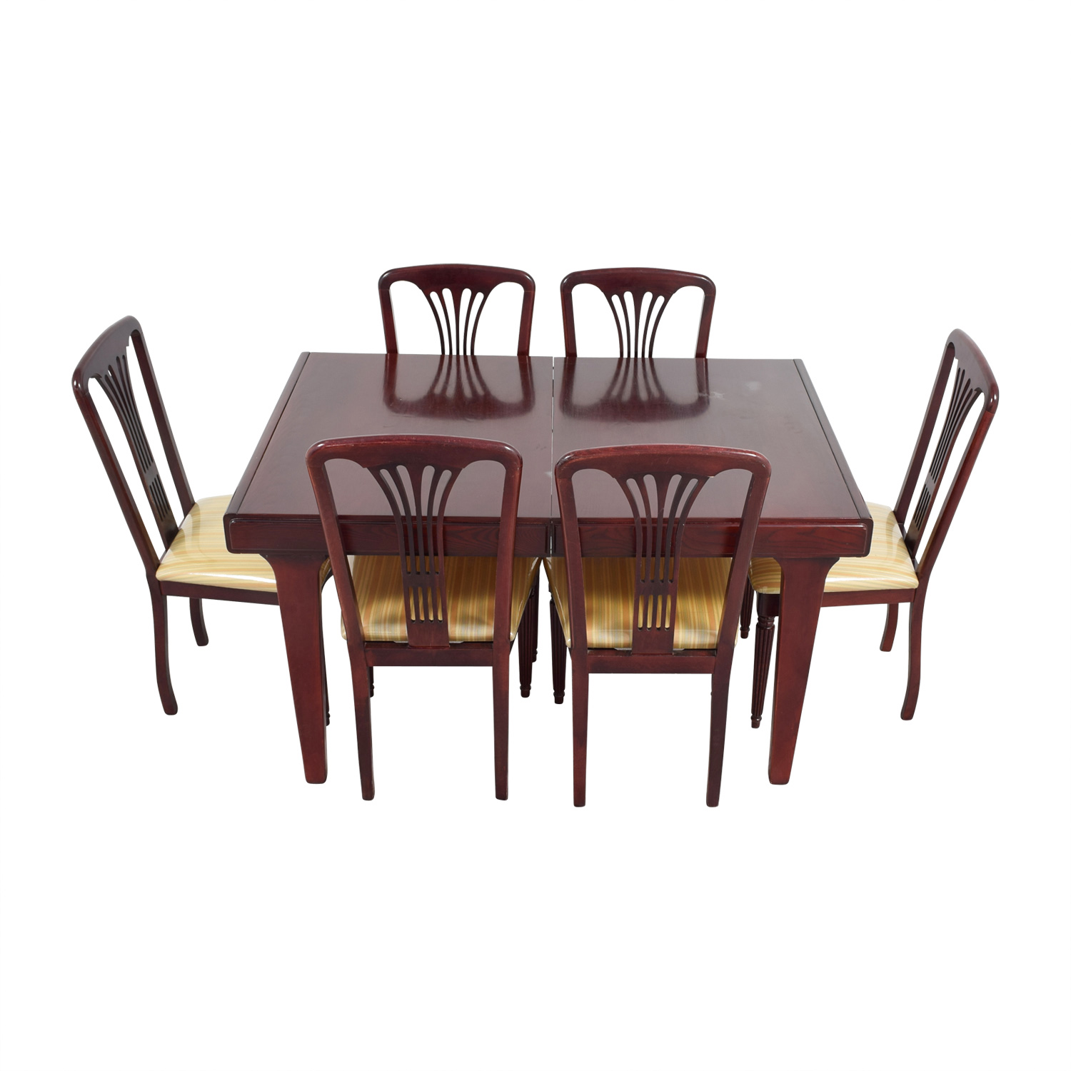 Vintage Canadian Wood Dining Set nyc
