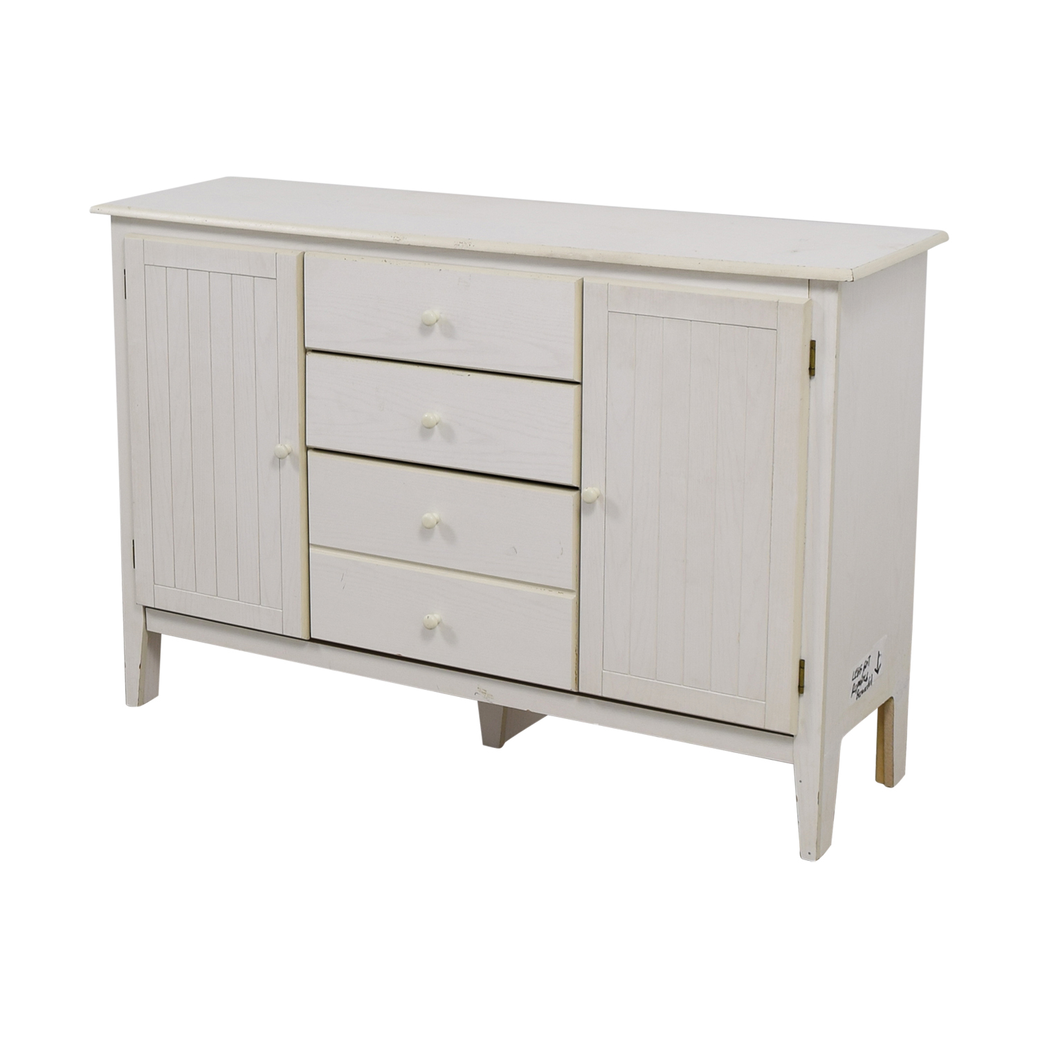 Shabby Chic White Cabinet / Tables