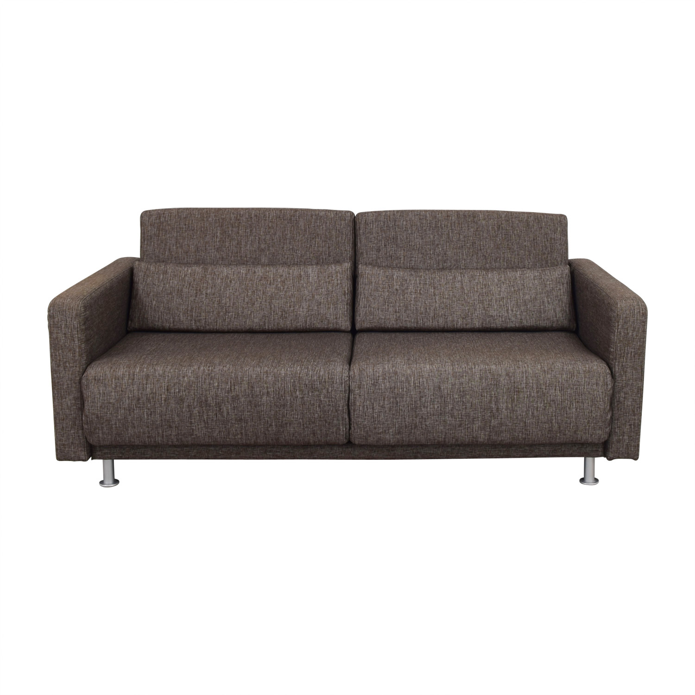 68 OFF Bo Concept Bo Concept Melo Brown Reclining Sleeper Sofa