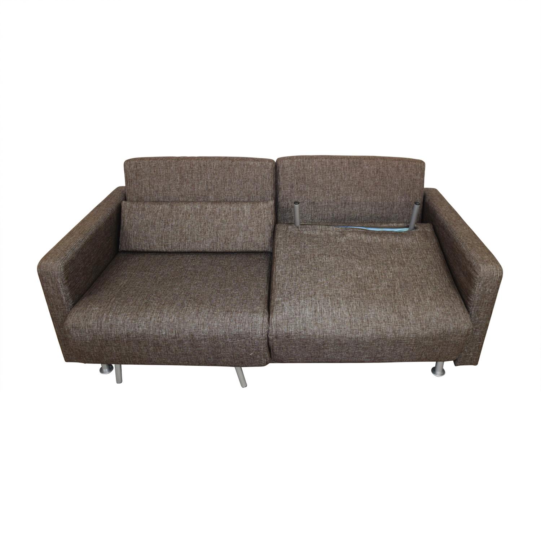 sneakers for cheap 7c83e d88e3 68% OFF - BoConcept Bo Concept Melo Brown Reclining Sleeper Sofa / Sofas