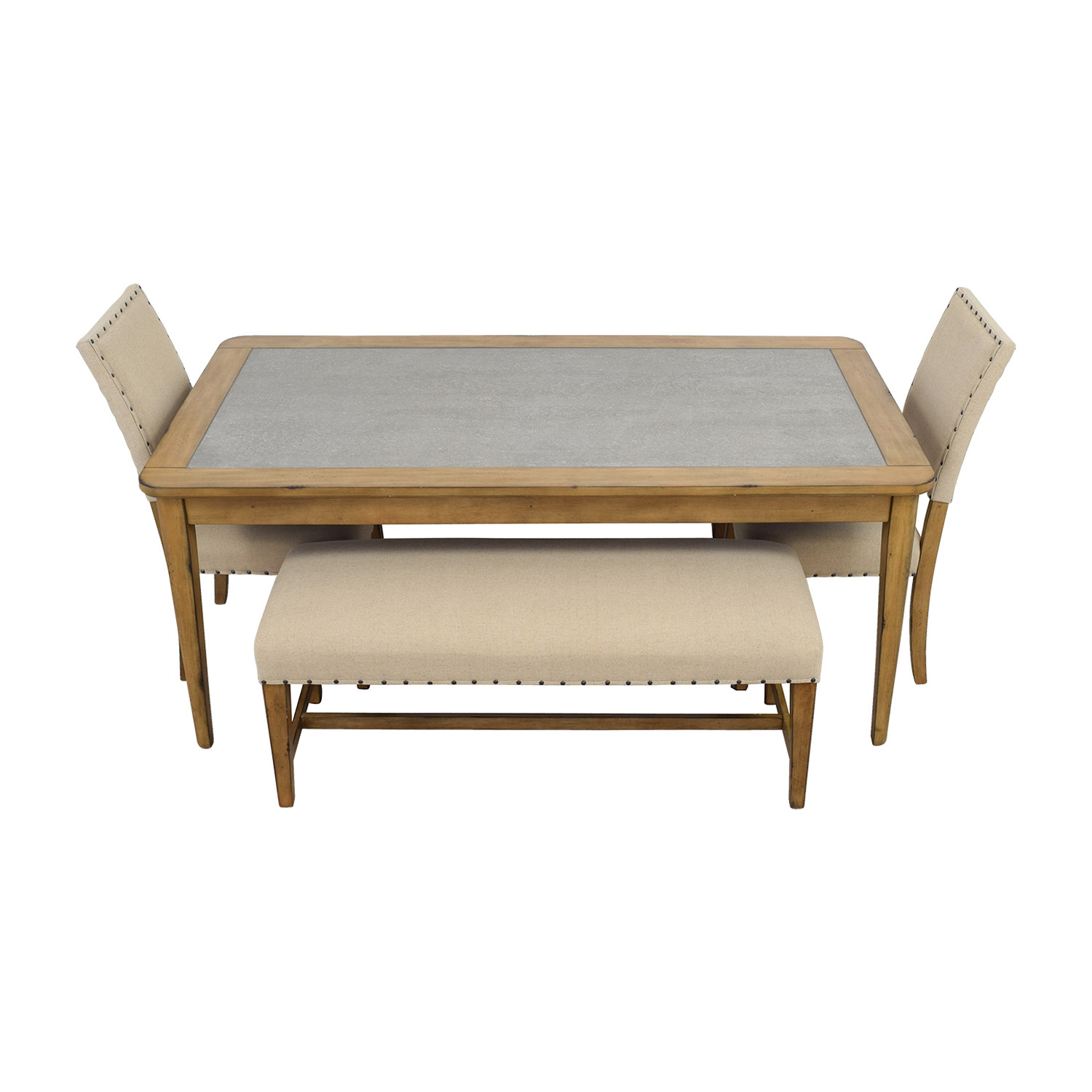 shop Raymour & Flanigan Gray Street Dining Set Raymour & Flanigan Tables