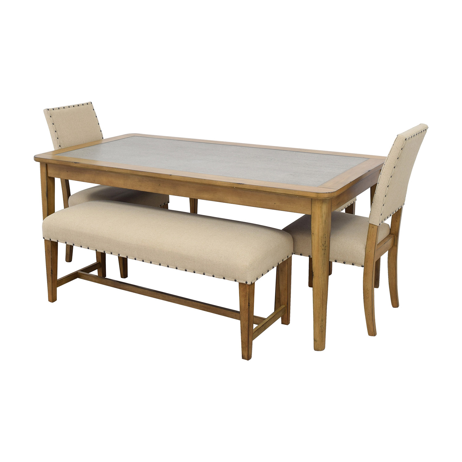 64 Off Raymour Flanigan Raymour Flanigan Gray Street Dining Set Tables