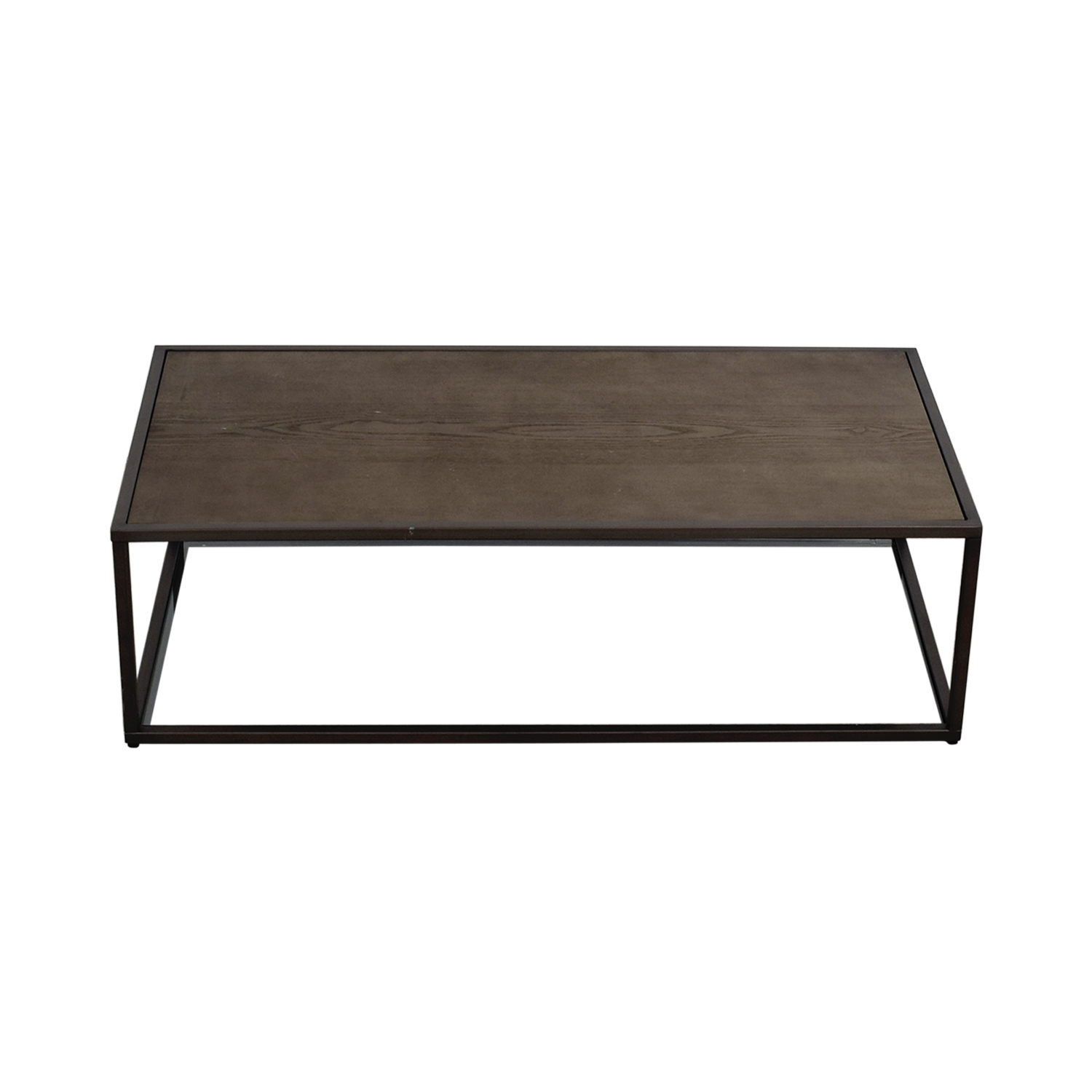 Crate & Barrel Crate & Barrel Switch Coffee Table Grey