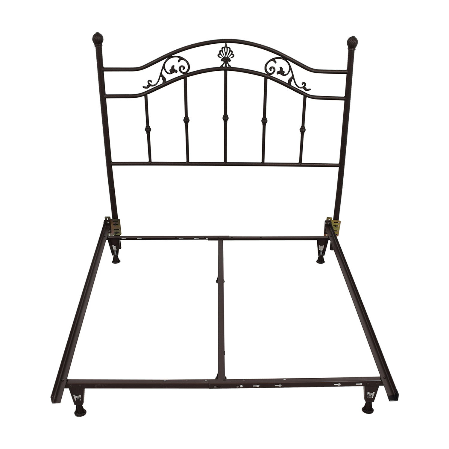 90% OFF - Wrought Iron Queen Bed Frame / Beds
