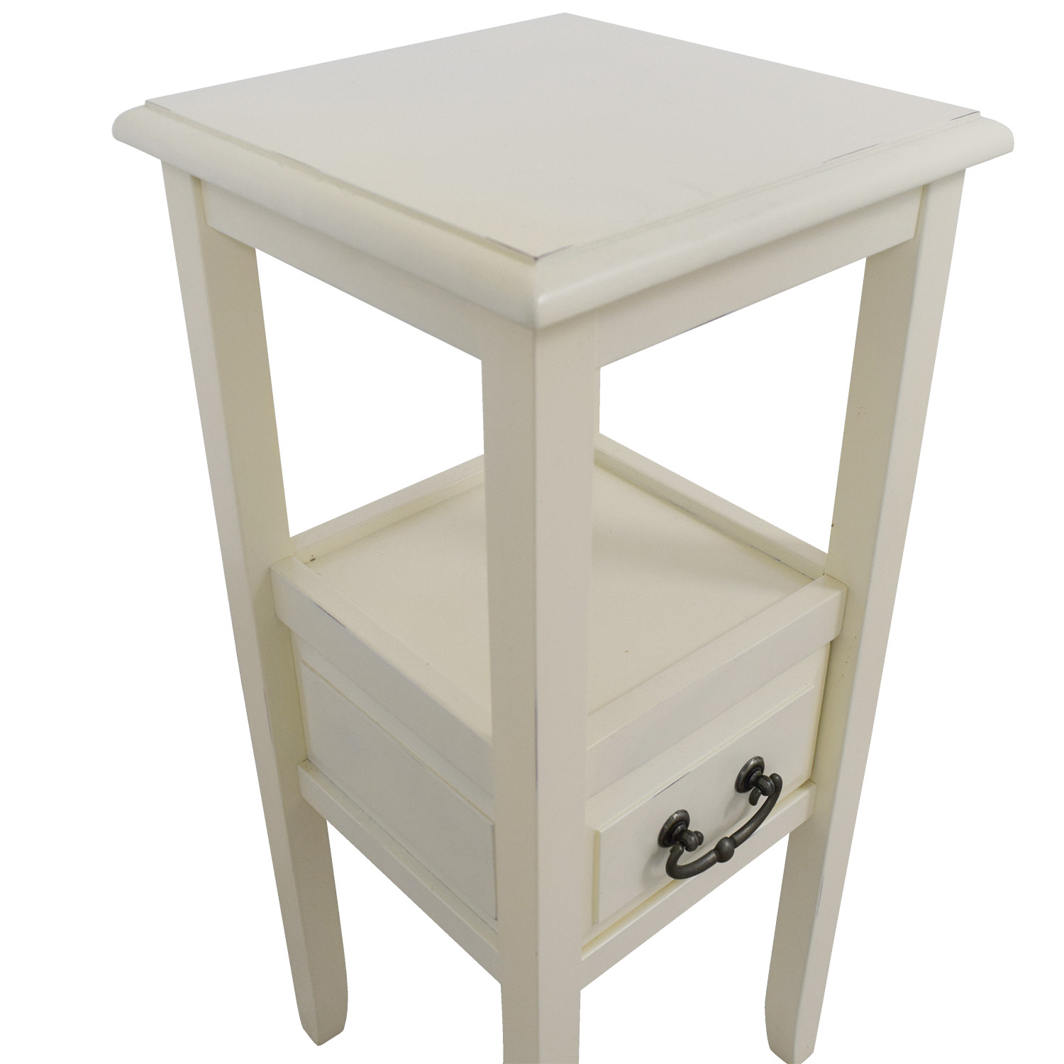 Pier 1 Pier 1 Imports Off White Side Table / Tables