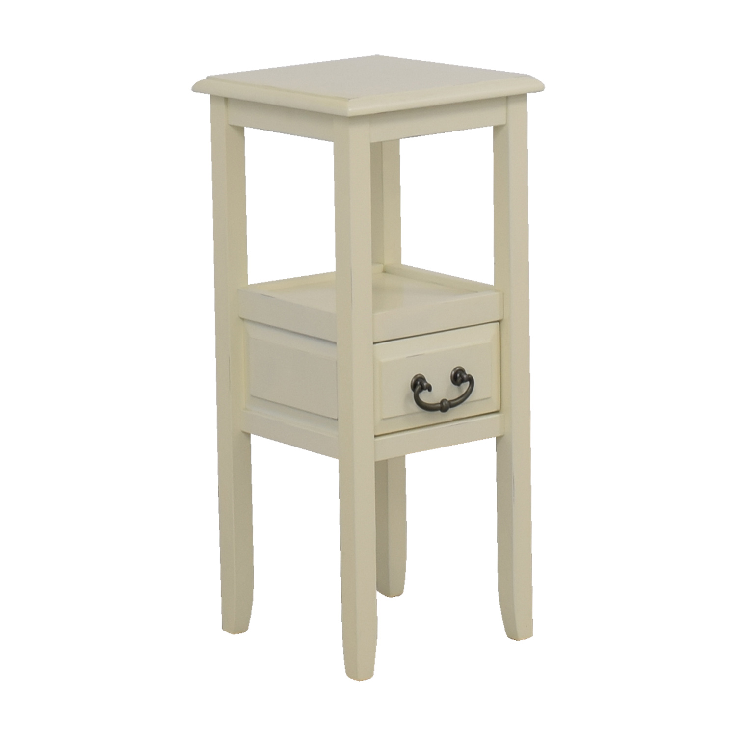 86 Off Pier 1 Pier 1 Imports Off White Side Table Tables