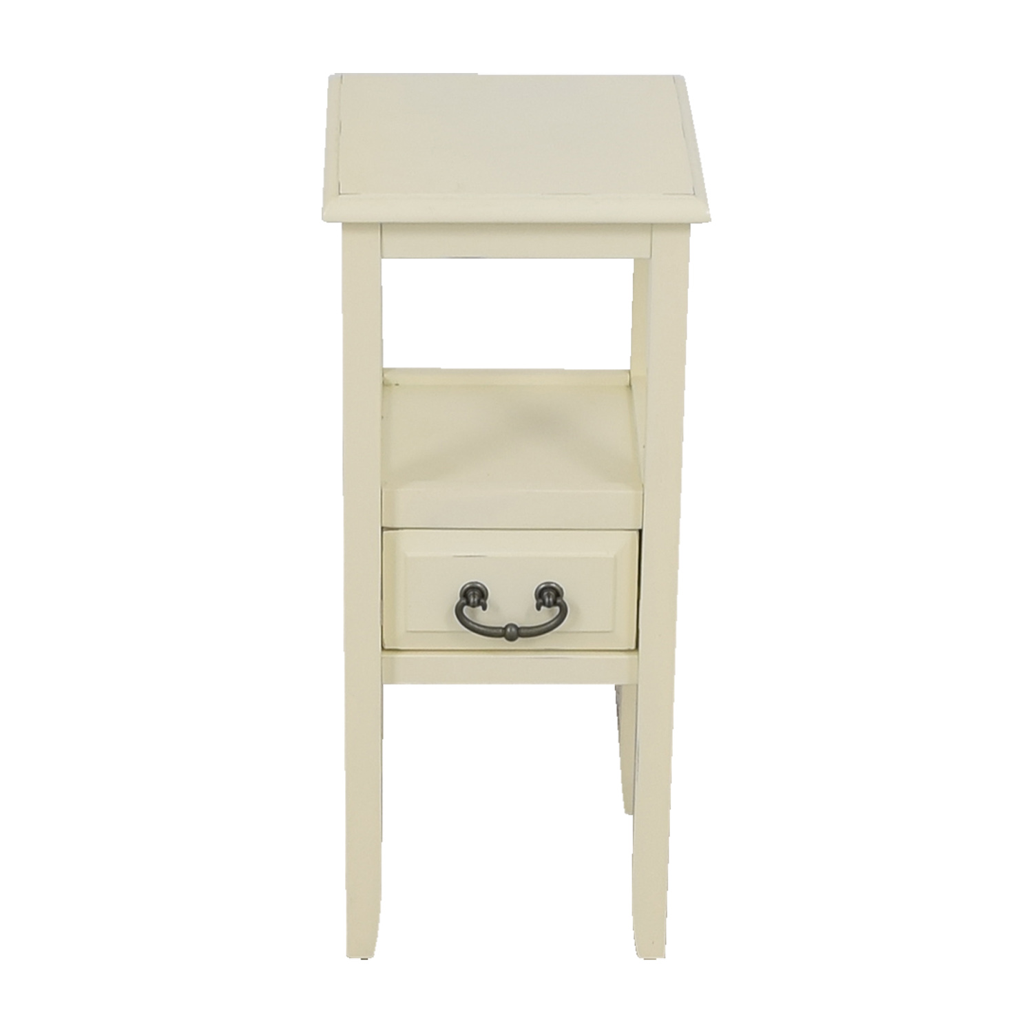 Pier 1 Imports Pier 1 Imports Off White Side Table price