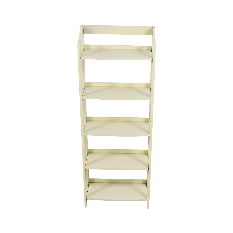 Pier 1 Imports Pier 1 Imports Clifton White Folding Shelf for sale