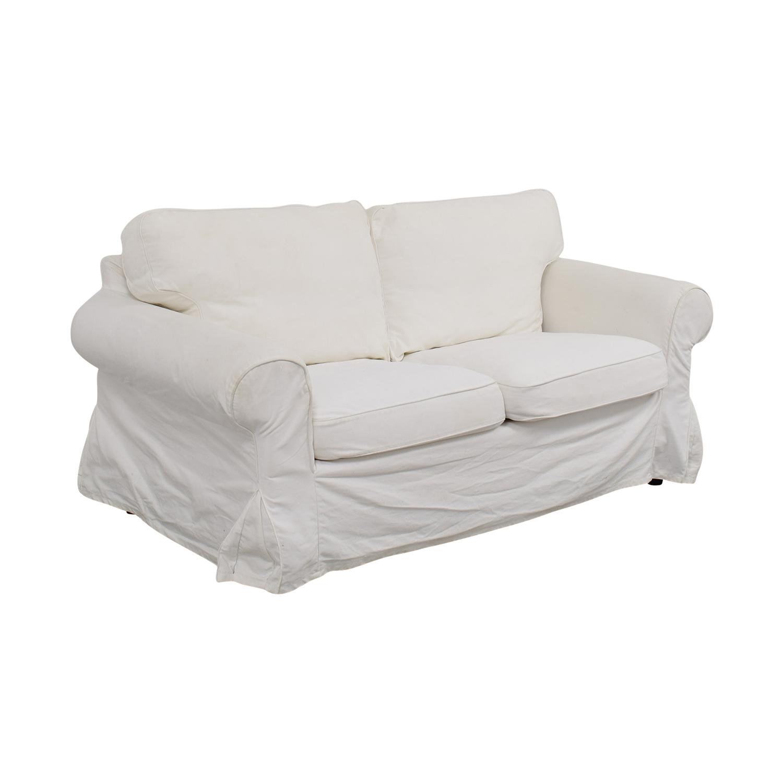 Sofa ikea ektorp  69% OFF - IKEA IKEA Ektorp Collection Loveseat / Sofas