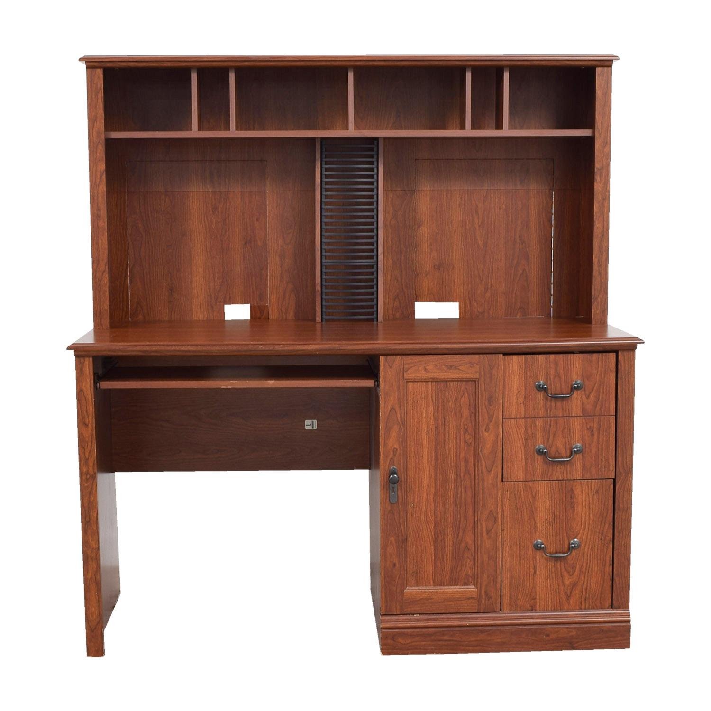 shop Saunders Wood Computer Desk Saunders Home Office Desks