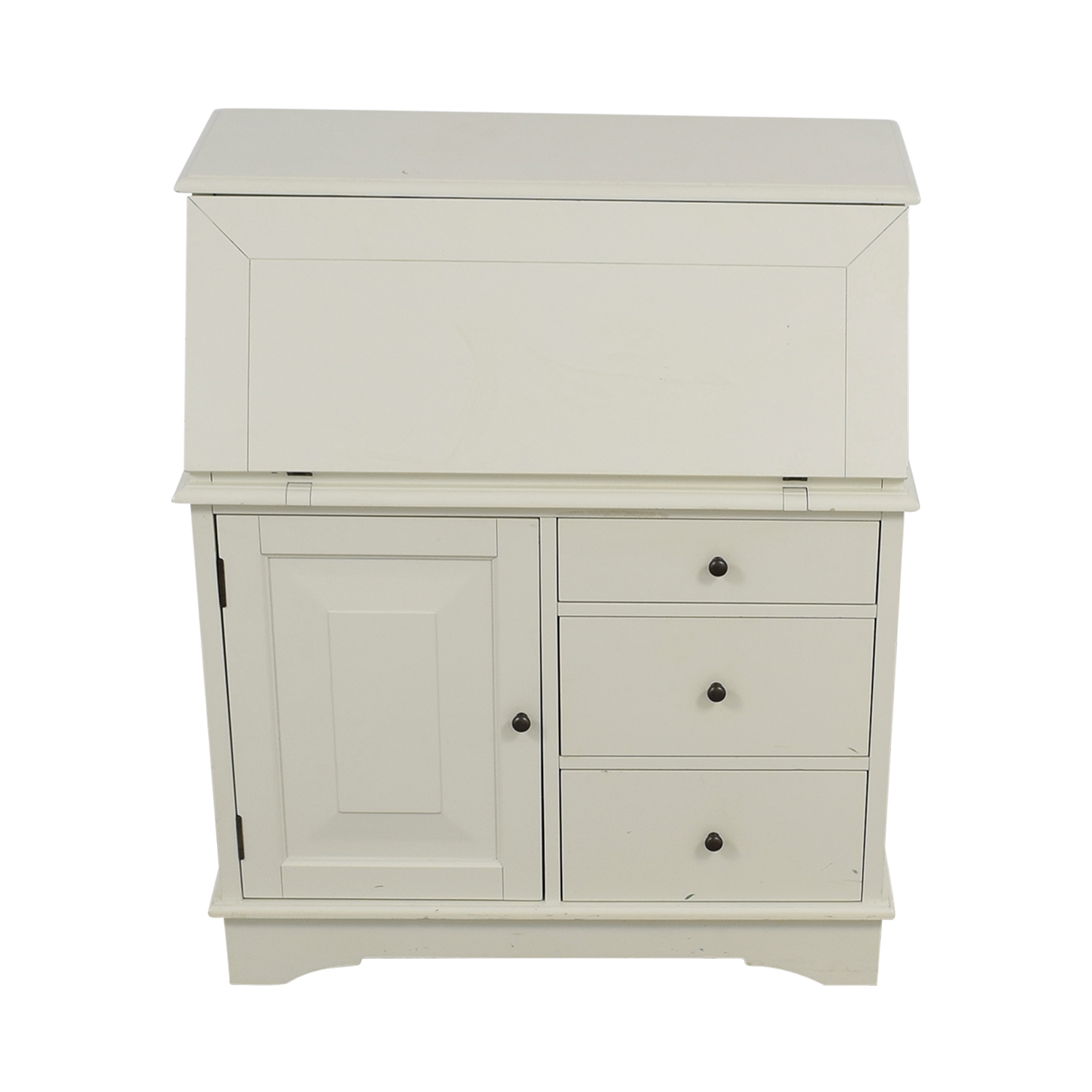buy Pottery Barn Pottery Barn Antique White Graham Secretary Desk online