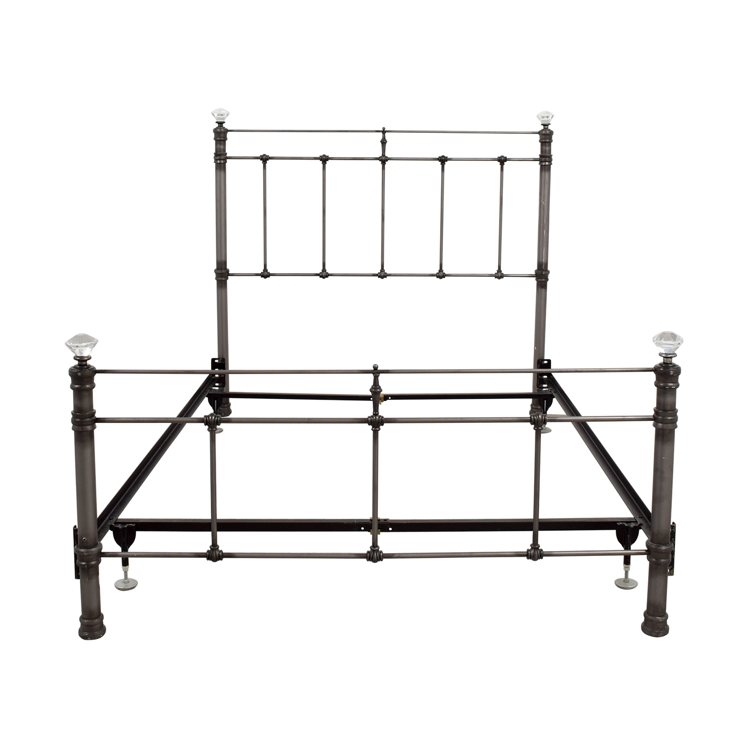 Pottery Barn Iron Crystal Full Bed Frame / Bed Frames
