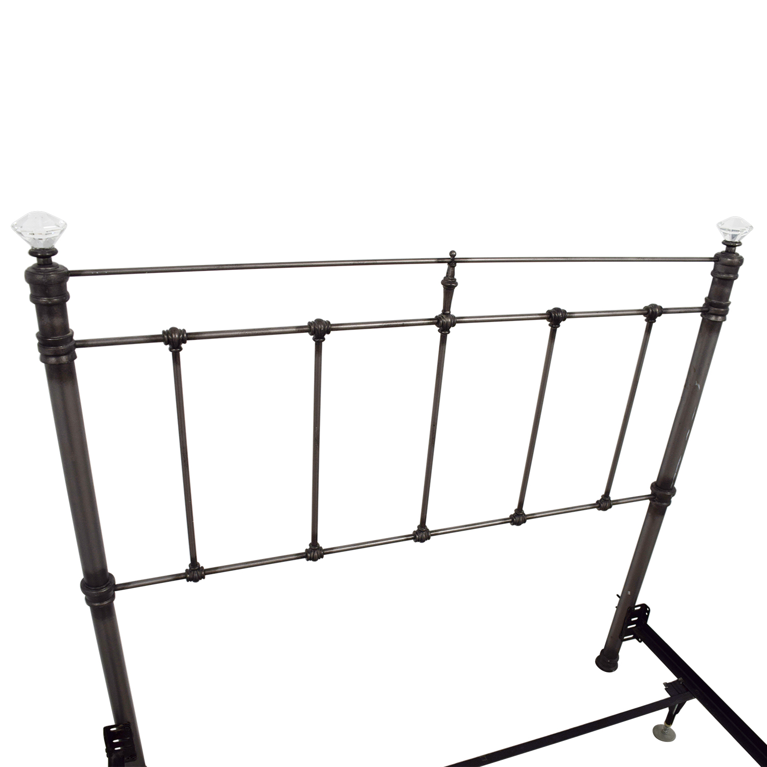 Pottery Barn Pottery Barn Iron Crystal Full Bed Frame discount