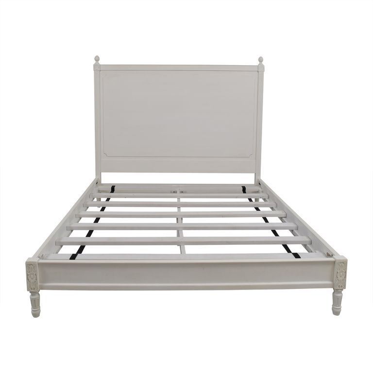 Restoration Hardware Restoration Hardware Louis XVI Collection Queen Bed Frame dimensions