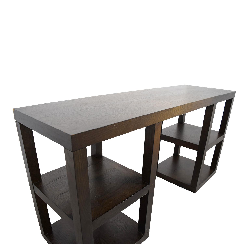 shop West Elm Desk with Shelves West Elm