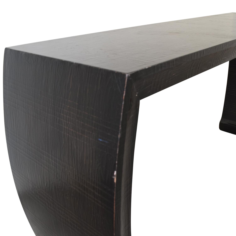 shop Ethan Allen Wood Sofa or Entryway Table Ethan Allen Accent Tables