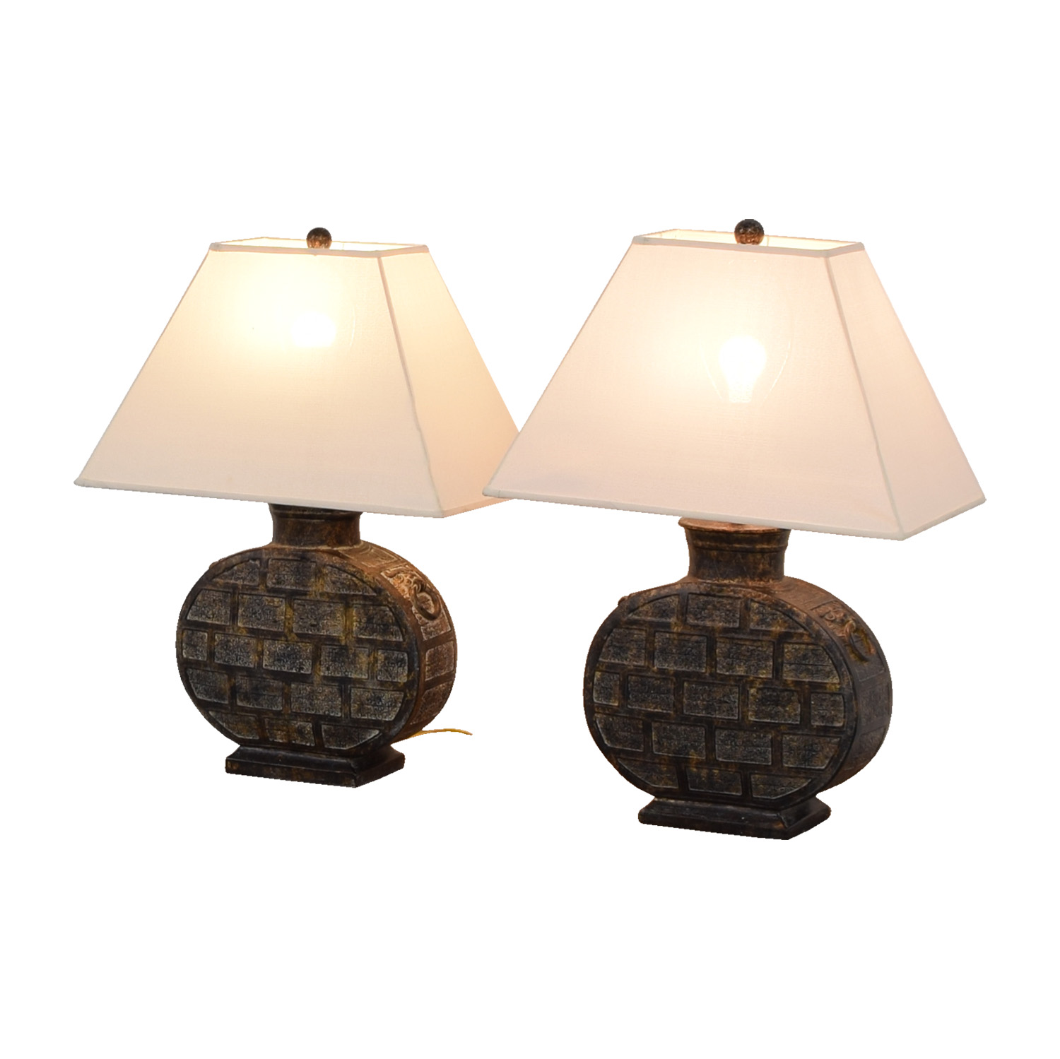 High Quality ... Ethan Allen Ethan Allen Round Table Lamps Discount ...