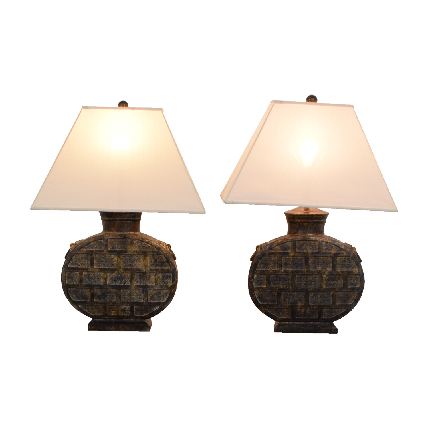 86 off ethan allen ethan allen round table lamps decor ethan allen ethan allen round table lamps nyc aloadofball