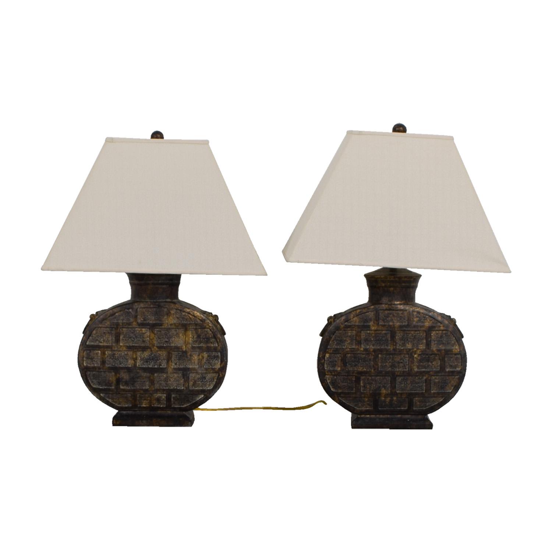 buy Ethan Allen Round Table Lamps Ethan Allen Decor