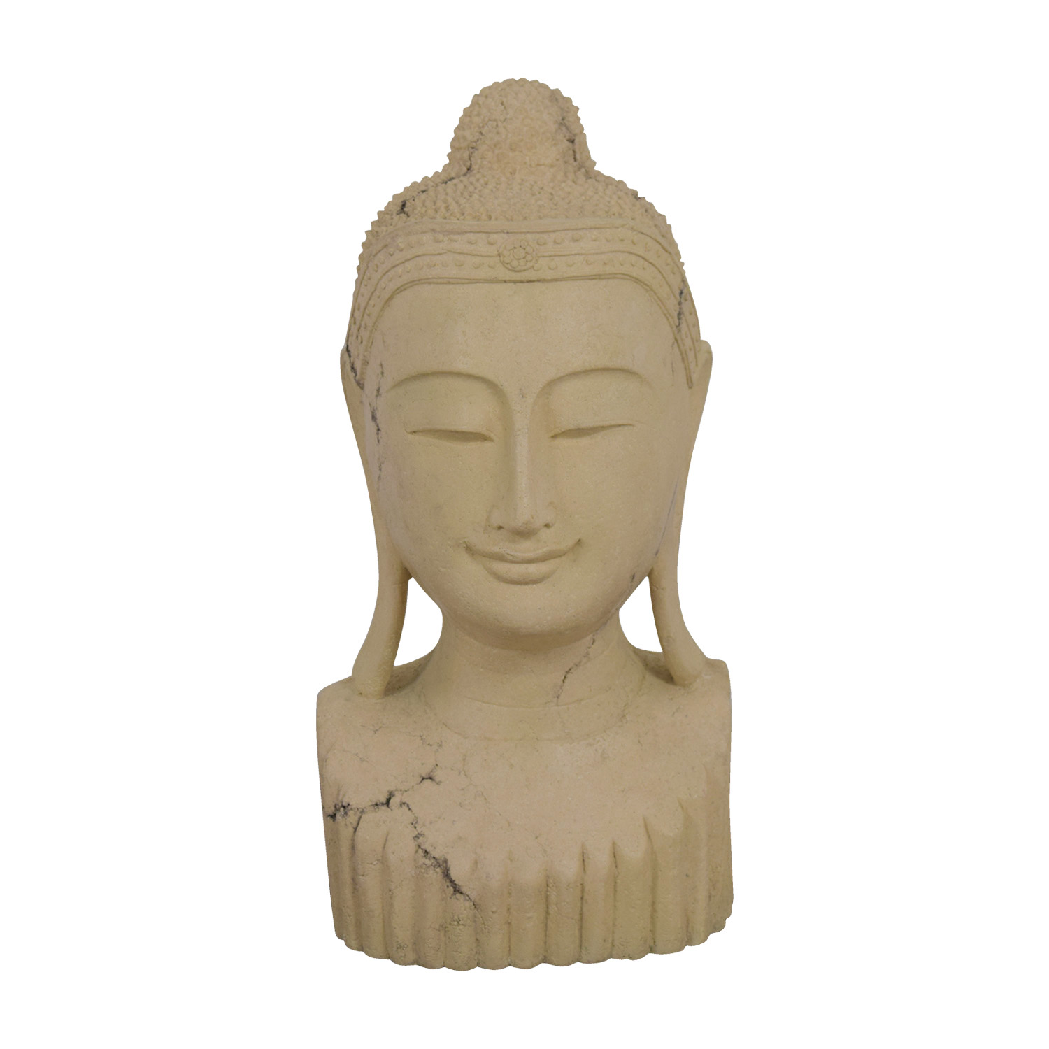 Decorative Budda Bust Decorative Accents