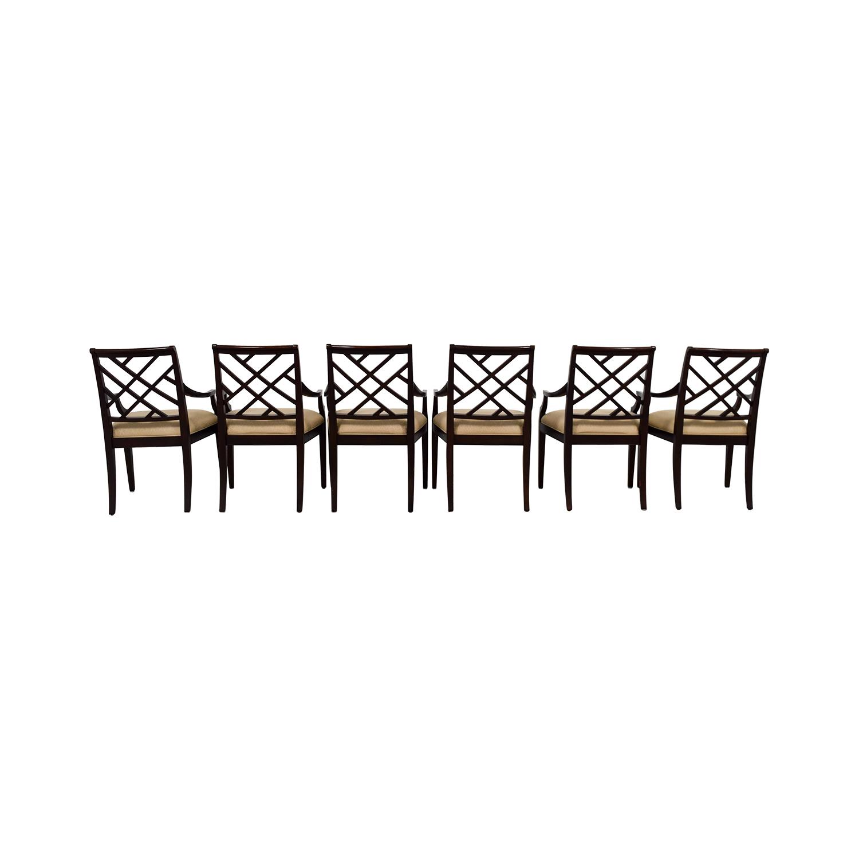 Ethan Allen Jaqueline Arm Chairs sale