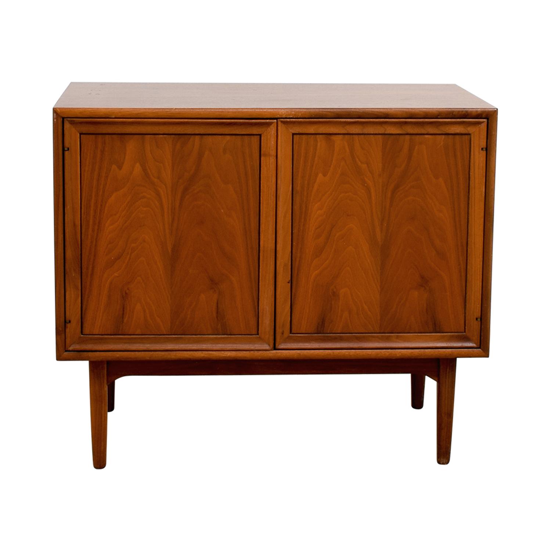 shop Drexel Mid-Century Storage Cabinet Drexel Storage