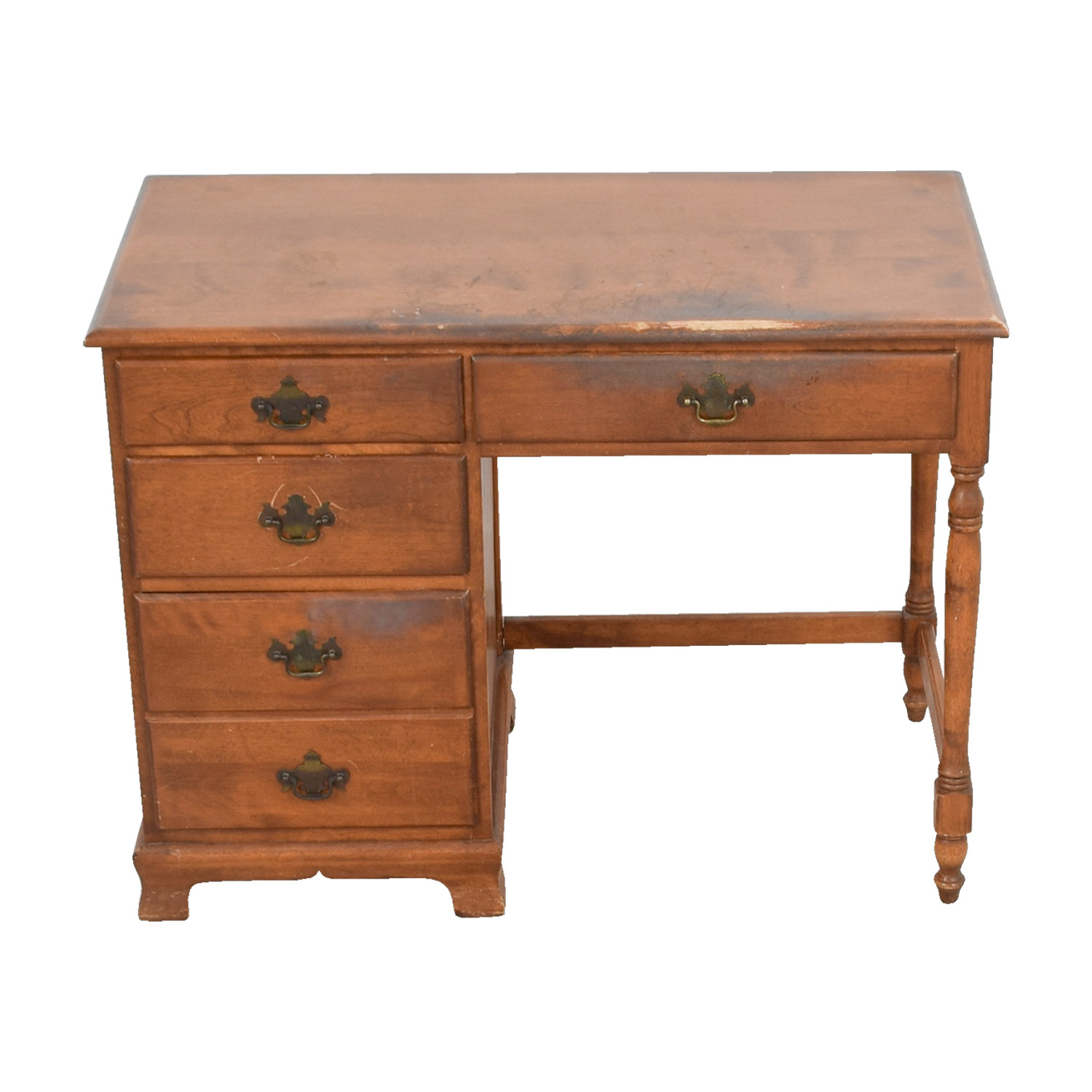 buy Ethan Allen Vintage Baumritter Maple Wood Desk Ethan Allen Sofas