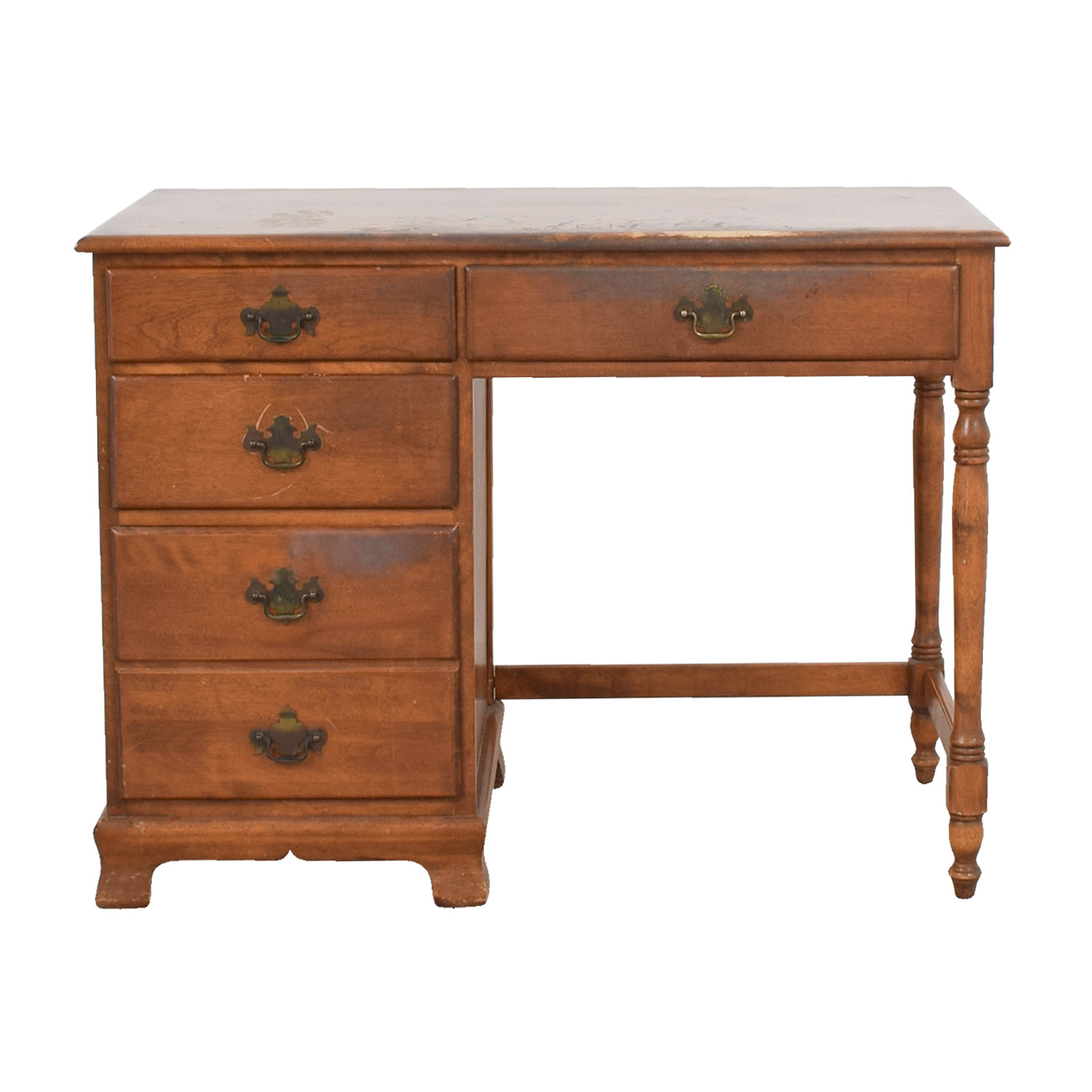 Ethan Allen Ethan Allen Vintage Baumritter Maple Wood Desk coupon