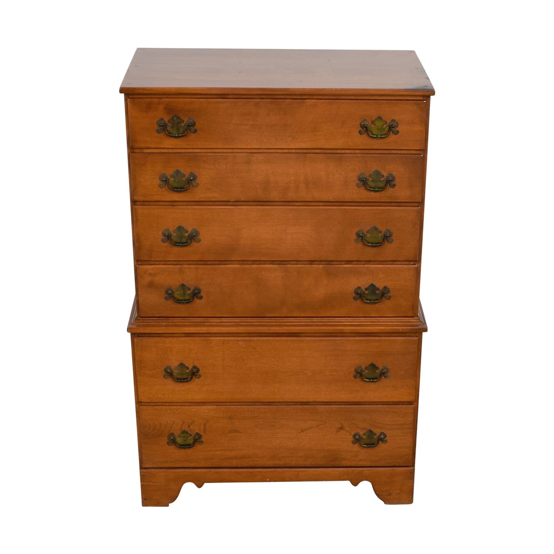 Ethan Allen Baumritter Vermont Nutmeg Maple Tall Dresser Online